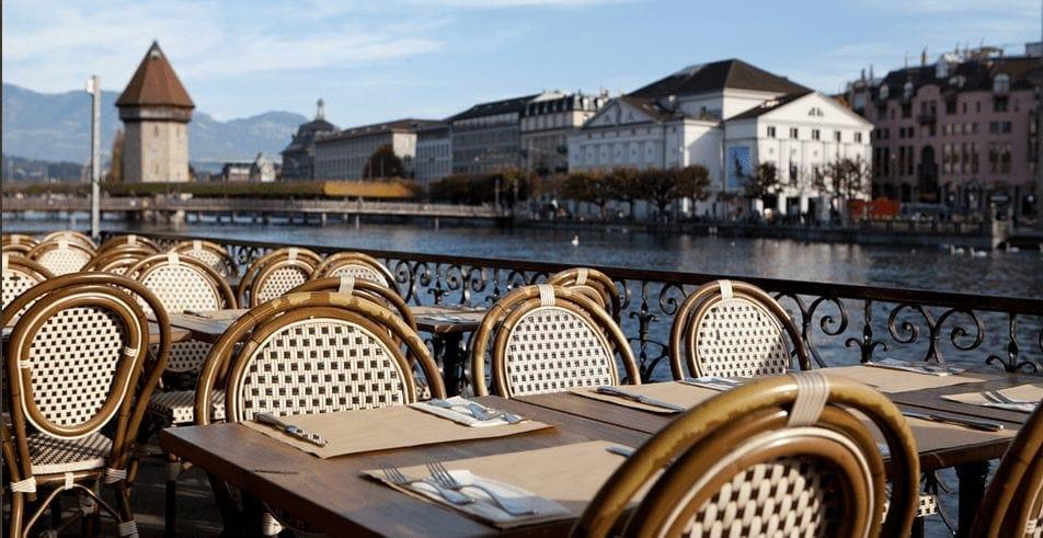 Luzern: Ristorante La Terrazza