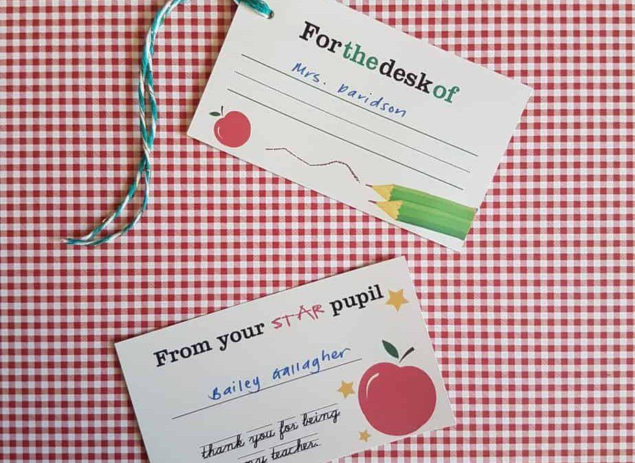 DIY: Teacher Appreciation Gifting