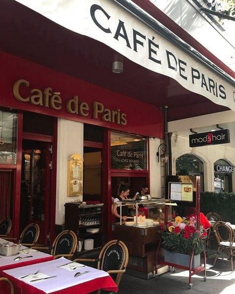 Geneva: Café de Paris