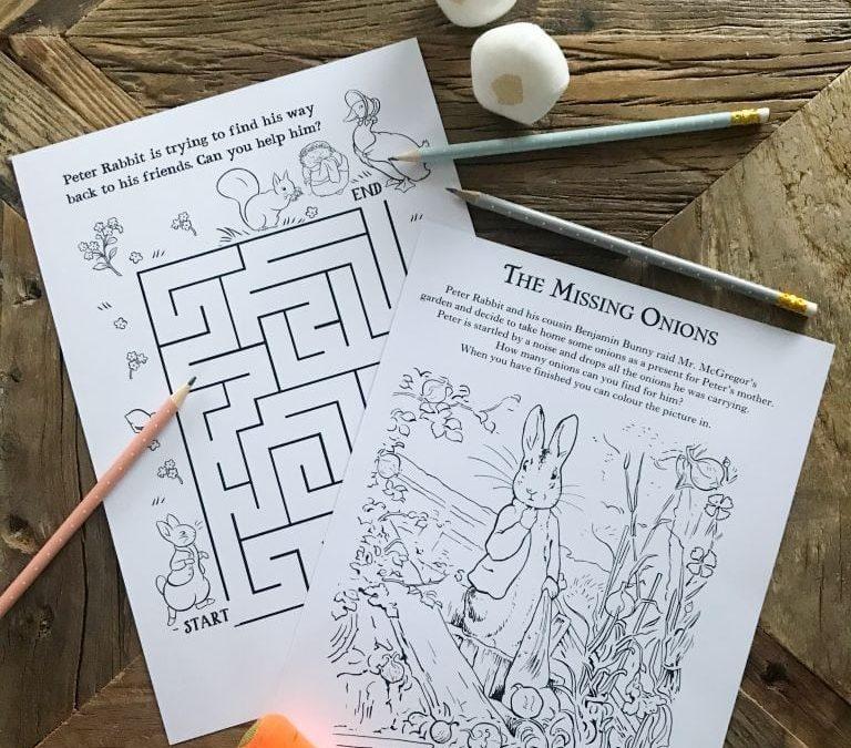 DIY: Peter Rabbit Hunt and Games