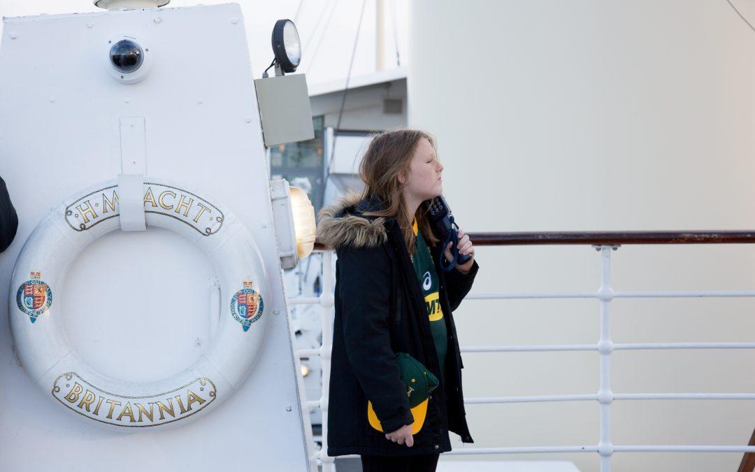 Scotland – The Royal Yacht Brittania