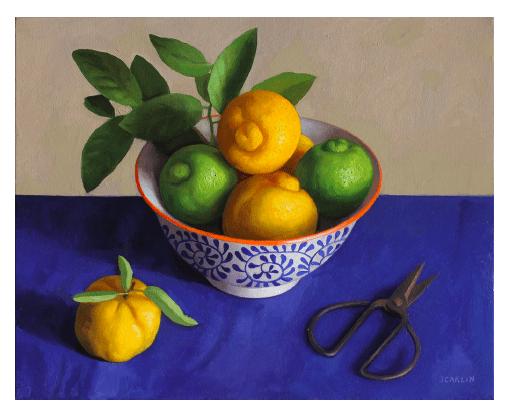 Buy of the Week – Oliver Scarlin Oil Paintings