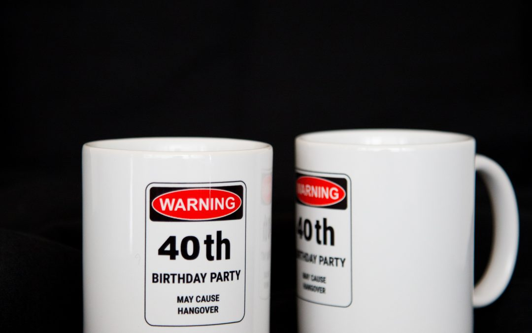 DIY – 40th Birthday Goodies