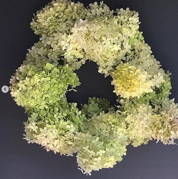 DIY – A Hydrangea Wreath